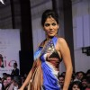 Model at Gitanjali Tour De India fashion  show at Trident. .