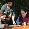 Congress President Sonia Gandhi during her enumeration at the beginning of the population enumeration phase of Census 2011 in New Delhi on Wed 9 Feb 2011. .
