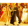 Ajay Devgan and Sanjay Dutt are dancing