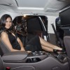 Lara Dutta launches Audi A8 at Andheri. .