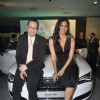 Lara launches Audi A8 at Andheri. .
