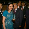"ICICI Bank CEO Chanda Kochhar at the launch of  ""Swabhiman"" in New Delhi"