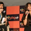 Jiah Khan and Mandira Bedi at the launch of the Playup's live gaming segment, in New Delhi