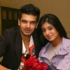 Karan kundra and Kritika Kamra celebrating Valentine's Day in New Delhi