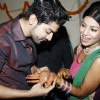 Gurmeet finds his name hidden in Debina's mehendi