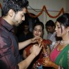 The ring ceremony of Debina and Gurmeet