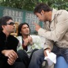 Ajay Devgan shouting on Arshad and Irfan