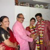Gurmeet & Debina's parents blessed them in their wedding