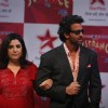 Hrithik Roshan and Farah Khan at TV talent show 'Just Dance'