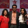 Hrithik Roshan, Farah Khan and Vaibhavi Merchant at TV talent show 'Just Dance'