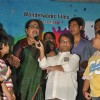 Usha Uthup and Lilliput at music launch of film'Satrangee Parachute' in ST Catherine's children home