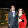 Shekhar Suman with wife at Videocons Venuegopal Dhoots Daughter Marriage
