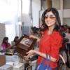 Shilpa Shetty at Araish Exhibition, Blue Sea in Mumbai