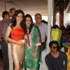 Mana and Sunil Shetty at Araish Exhibition, Blue Sea in Mumbai