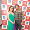 "Kangna and Madhavan promote ""Tanu Weds Manu"" on Jhalak Dhikla Jaa sets at Filmistan, Mumbai"