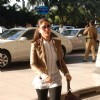 Kareena Kapoor leaves to join Saif Ali Khan in Bhopal at Domestic Airport, Mumbai