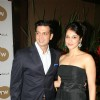 Eesha Kopikar with her hubby grace Laila Khan's furniturewala launch at Worli, Mumbai