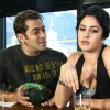 Salman talking to Katrina Kaif