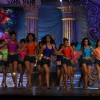 Participants on stage at Grand Finale of Indian Princess 2011-12