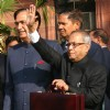 Finance Minister Pranab Mukherjee going to present the General Budget 2011-12 to the Parliament