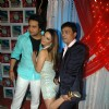 Rakhi Sawant and Krushna Abhshek at the location of Comedy Circus in Andheri