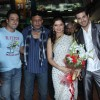 Deepshikha, Mithun, Inder Kumar and Kaishav Arora at Music launch of movie 'Yeh Dooriyan' at Inorbit