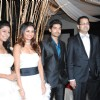 Debina and Gurmeet Choudhary at Rahul and Dimpy Mahajan's 1st wedding anniversary party