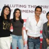 Arjun Rampal, Neetu and Sherlyn at CPAA women's day celeberations at IMAX Wadala