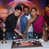 Jhalak Dikhla Jaa winner Meiyang Chang and choreographer Marischa with Remo Dsouza