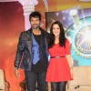 Shabir Ahluwalia and Preity Zinta at Colors new show 'Guinness World Records' in Mumbai