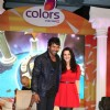Shabir Ahluwalia and Preity Zinta at Colors new show �Guinness World Records� in Mumbai