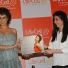 Lisa Ray launches Lifecell Femme Taj Colaba, Mumbai