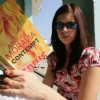 Kalki Koechlin with a book | Dev D Photo Gallery