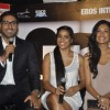 Abhishek Bachchan and Sarah Jane Dias at Game film Press Conference at Cinemax Versova, Mumbai