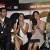 Abhishek, Kangna and Sarah Jane at Game film Press Conference at Cinemax Versova, Mumbai