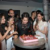Piyush Sachdev cutting cake on his birthday