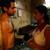 Shirtless Abhay Deol with Mahie Gill