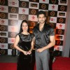Aditya Redij and Natasha Sharma at BIG STAR IMA Awards