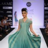 Model on day 3 Lakme Fashion Week for designer Rimi Nayak. .