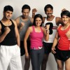 Mandira, Sammir, Purab, Bikram and Prashant are looking excited