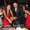 Cake Cutting Sara, Nishant Producer Rajita Sharma at 100 Episode Success Party of Ram Milaayi Jodi