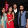 Sara and Nishant with Producers Rajita Sharma and Viveck Budakoti at Success Party of RMJ