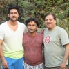 B'day party of Rajpal Yadav at location of movie 'Bin Bulaye Baarat'