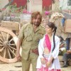 "Shakti Kapoor and Shweta Keswani on location of film ""Bin Bulaye Baarati"""