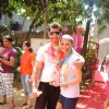 Deepshikha and Kaishav Arora at Ekta, Sanjay and Kiran Bawa's Holi Party at Versova