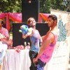 Karan Vir and Teejay Bohra at Ekta, Sanjay and Kiran Holi Party at Versova