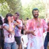 Anchal Kumar & Shabbir Ahluwalia at Ekta, Sanjay and Kiran Bawa's Holi Party at Versova