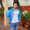 Ruslaan Mumtaz at Zoom Holi Party in Tulip star