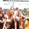 Sachin and Juhi Parmar at Zoom Holi Party in Tulip star