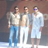 Bobby Deol, Irfan Khan and Sunil Shetty promoting movie Thank You at Madh Island, Mumbai